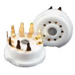 Zócalo noval para PCB, gold pins