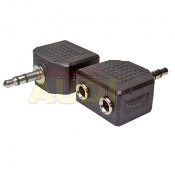 Adaptador mini Jack 3.5mm estéreo