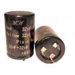 32+32 uF - 500 V - 85ºC