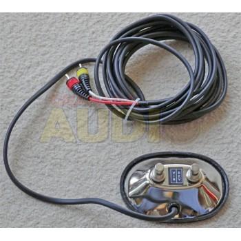 Pedal cambio de canal tipo Fender con RCA