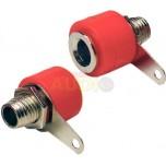 Conector para altavoz rojo