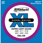 Cuerdas D'Addario Super Light EXL120
