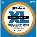 Cuerdas D'Addario Regular Light EXL110
