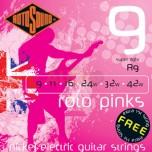 Cuerdas Rotosound Roto Pinks 9-42